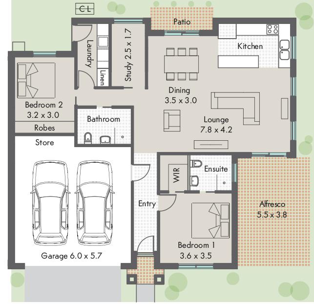 Main Street Village Floor plan