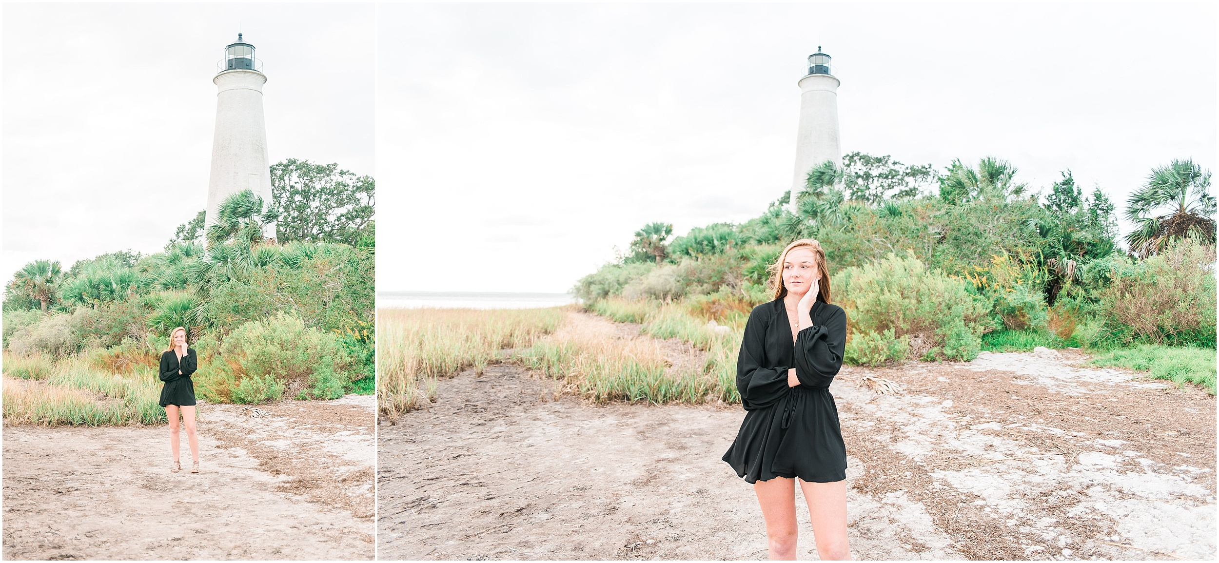 Tallahassee Florida Wedding & Senior Photographer, Anna Senior Session at Saint Marks Lighthouse, Crawfordville Florida_0001.jpg