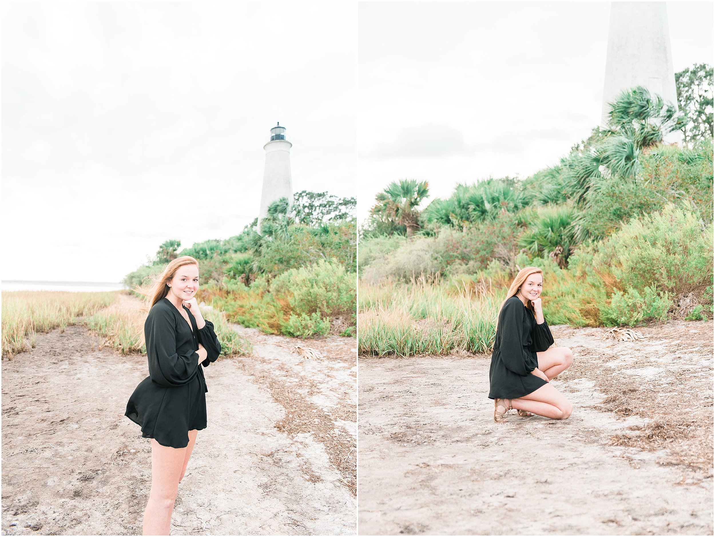 Tallahassee Florida Wedding & Senior Photographer, Anna Senior Session at Saint Marks Lighthouse, Crawfordville Florida_0003.jpg