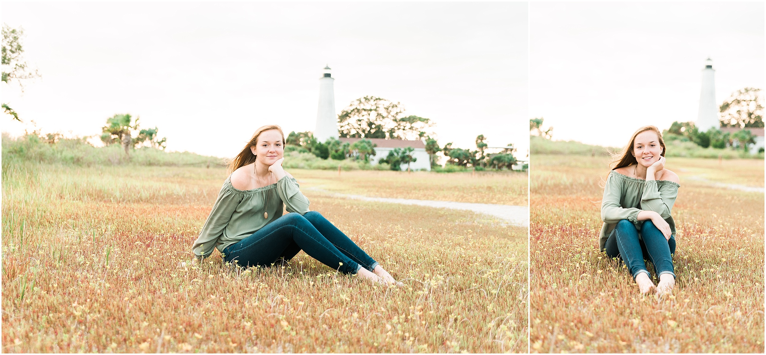 Tallahassee Florida Wedding & Senior Photographer, Anna Senior Session at Saint Marks Lighthouse, Crawfordville Florida_0022.jpg
