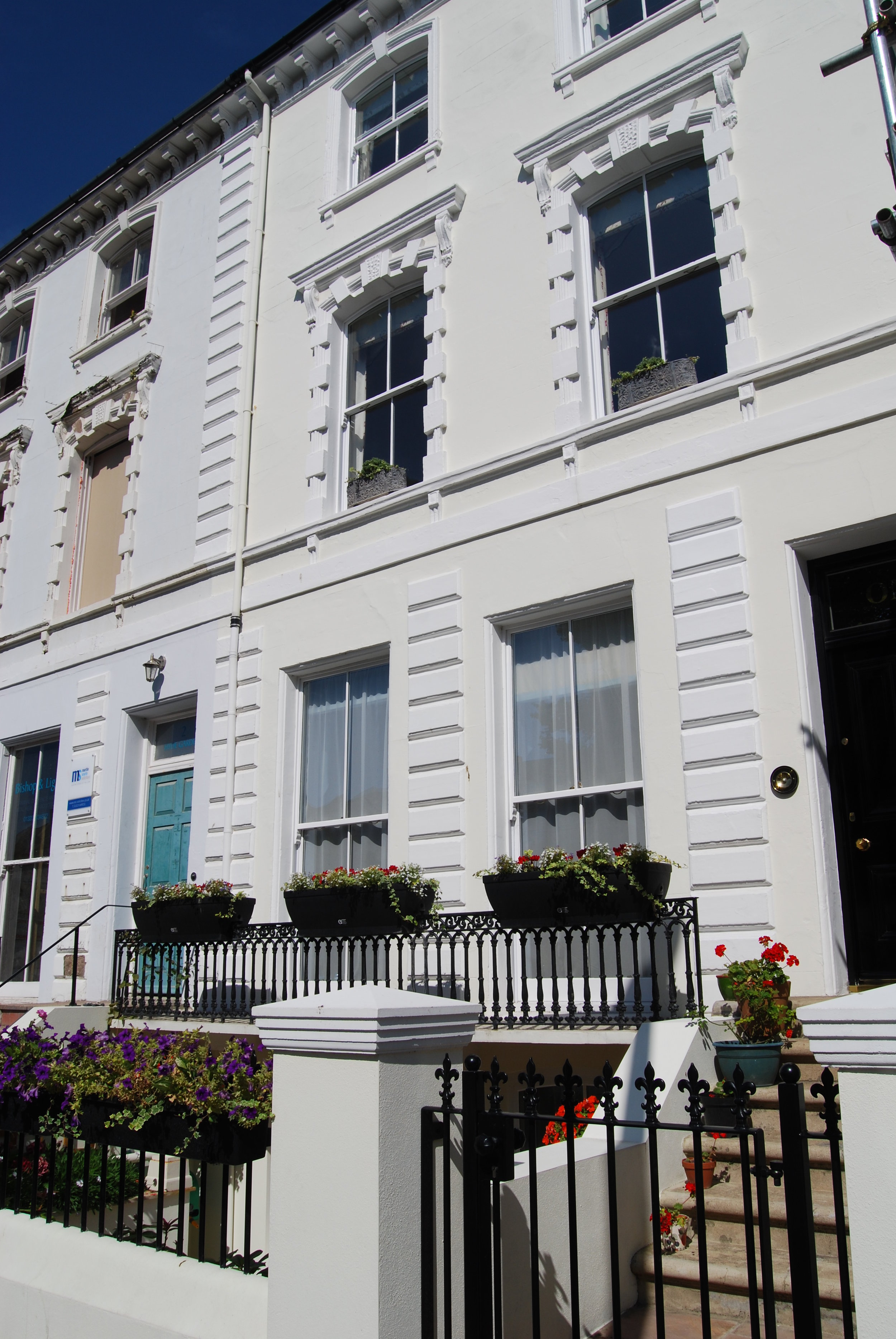 Georgian townhouse refurbishment & change of use Eastbourne