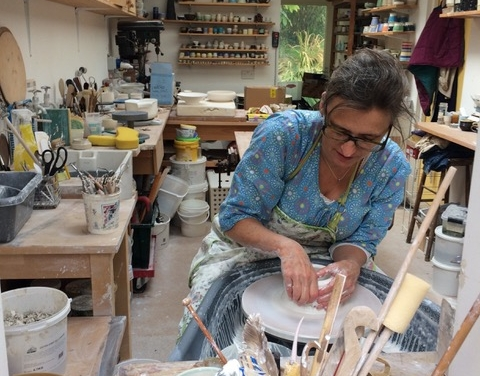 Lewes potter Caroline Chalton-Hellyer
