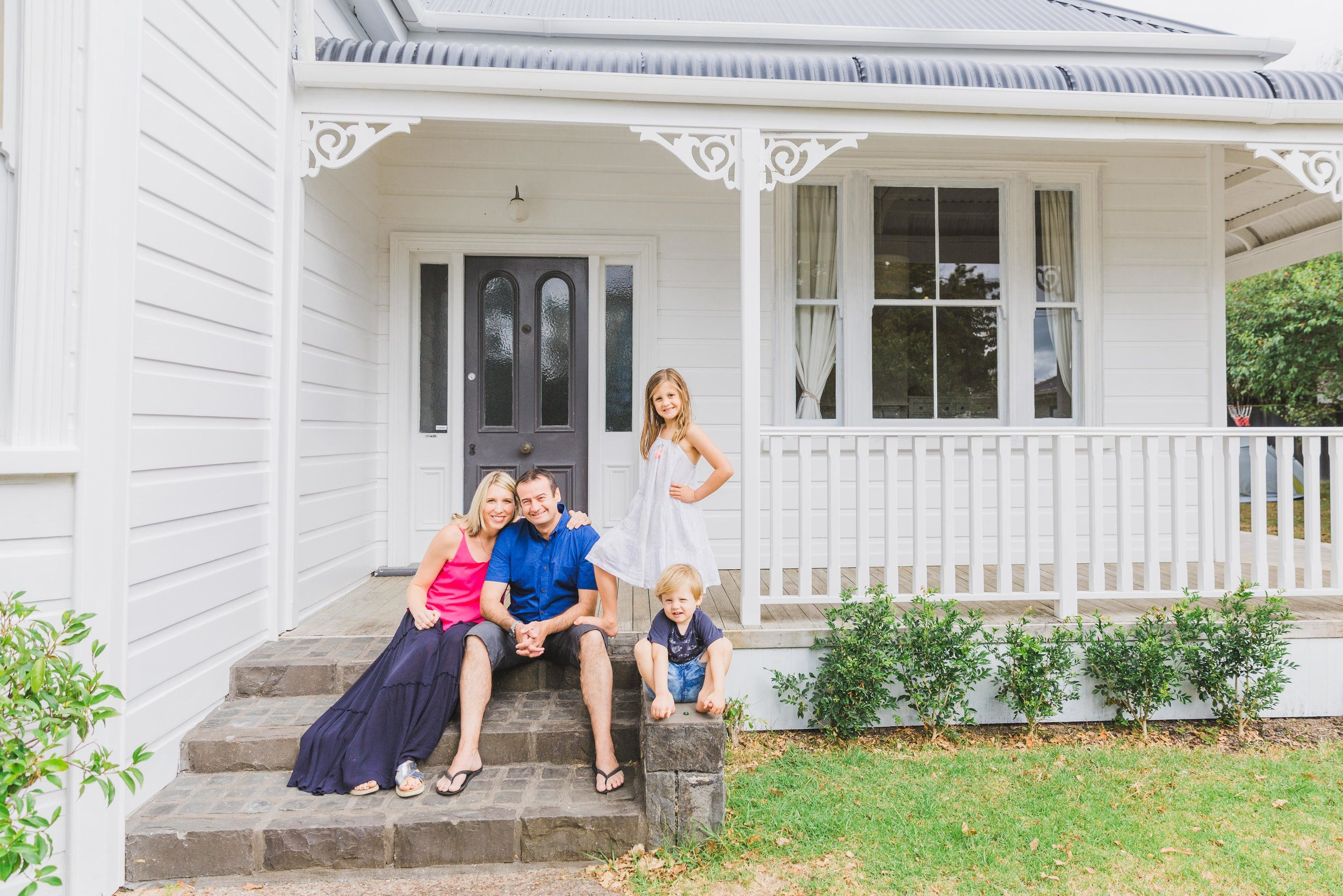 McLean family - At home and at Little Shoal Bay