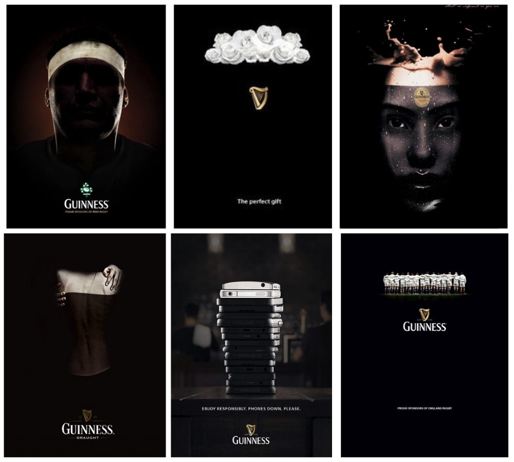 Consistent use of Black and White in the decision corridor triggers Guinness in the System 1 brain and increases the propensity for consumers to select Guinness as their 'first drink' when they reach the bar.