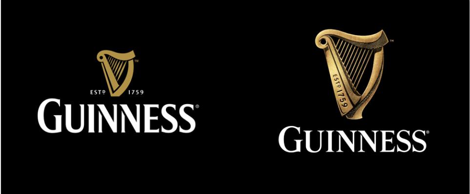 Guinness identity updated by Design Bridge  http://www.designbridge.com/