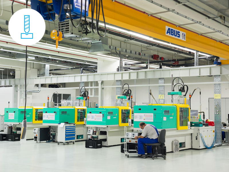 Injection Molding - The cycle time of many machines became available on Smartphones, in real time.