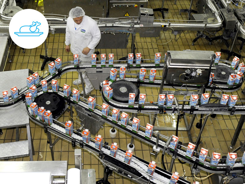 Food - Supplement your old SCADA system with an add-on Factbird.