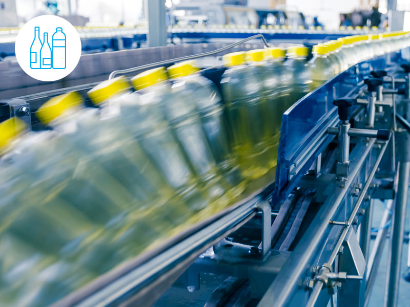 Beverage - Factbird can replace old production monitoring systems.