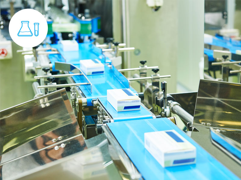 Pharma - Video makes it so much easier to analyze how production lines stop.