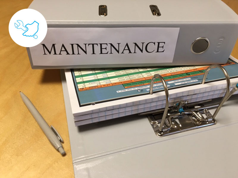 Maintenance - Your maintenance system is depending on manual data entry.