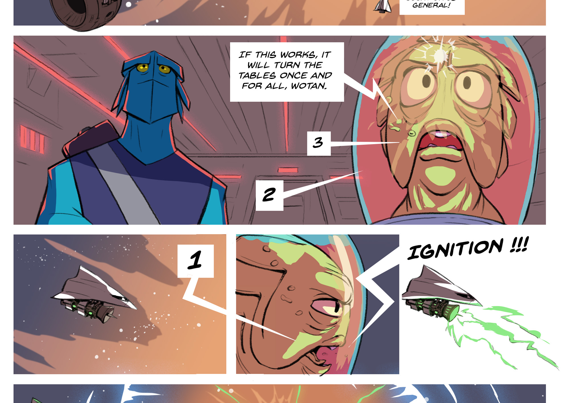 Comic Page - Issues #1