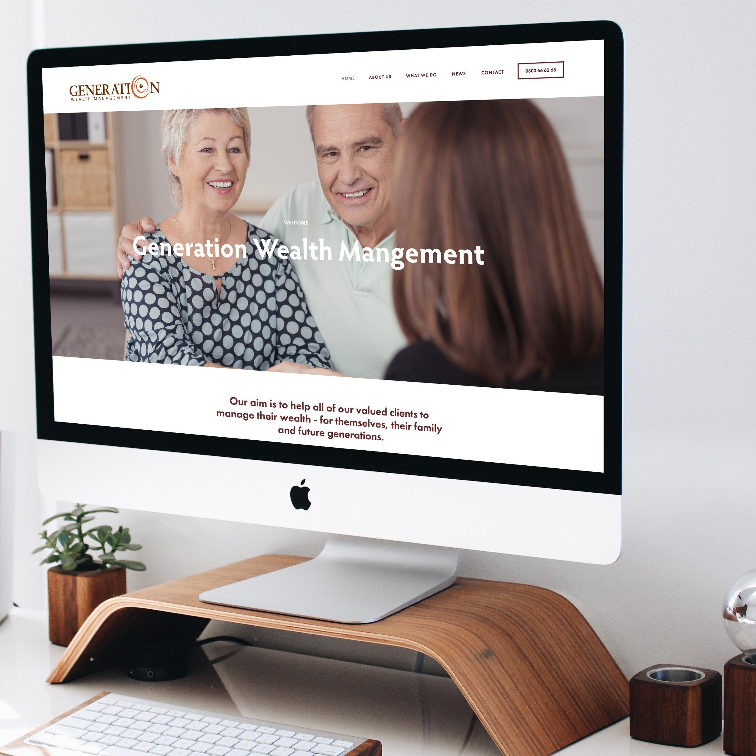 website design and development -