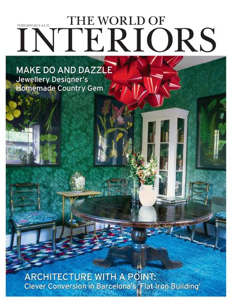 Decorum Est - The World of Interiors February 2013