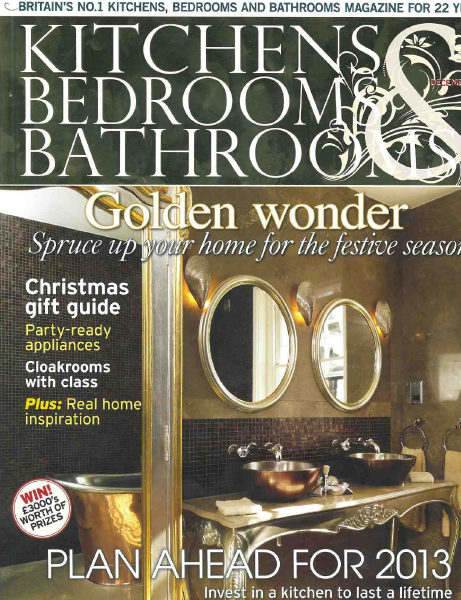 Decorum Est - Essential Kitchens Bedrooms Bathroom December 2012