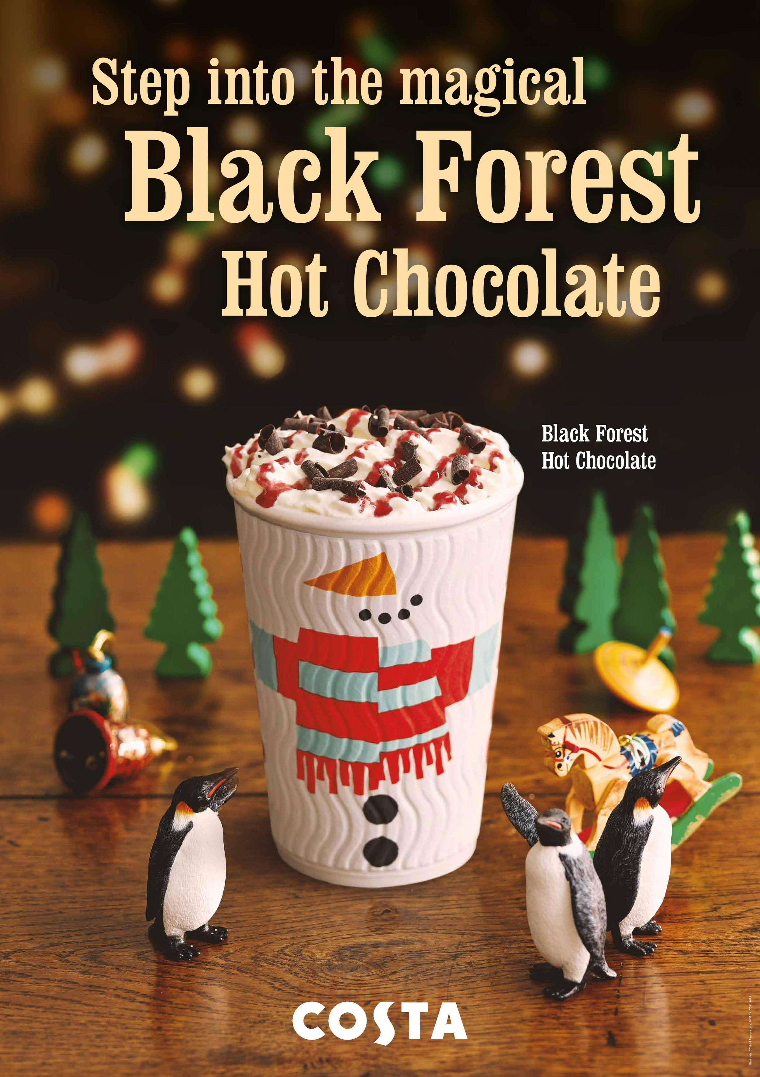Costa Coffee Christmas In Store Digital Ooh Sally Abbotts