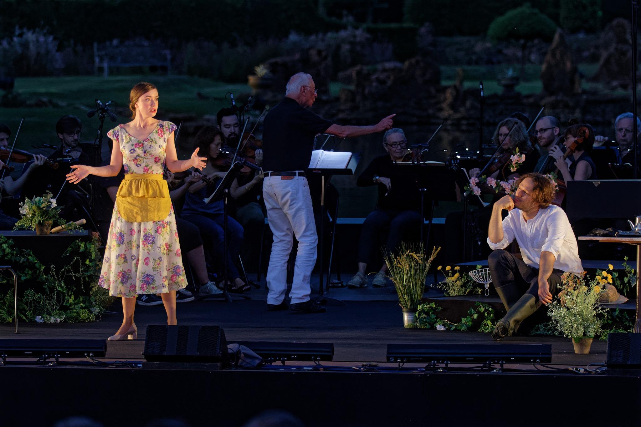 Serpetta  La finta giardiniera  Mozart  Les Arts Florissants cond. William Christie  © Jacky Joccotton 2019