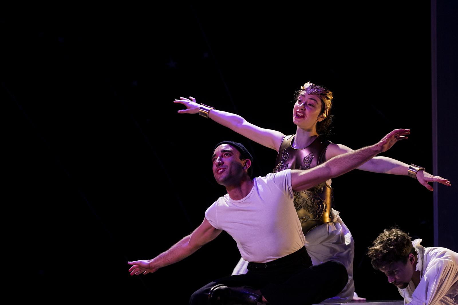 Minerva  Il ritorno d'Ulisse in patria  Monteverdi  Pinchgut Opera  © Brett Boardman