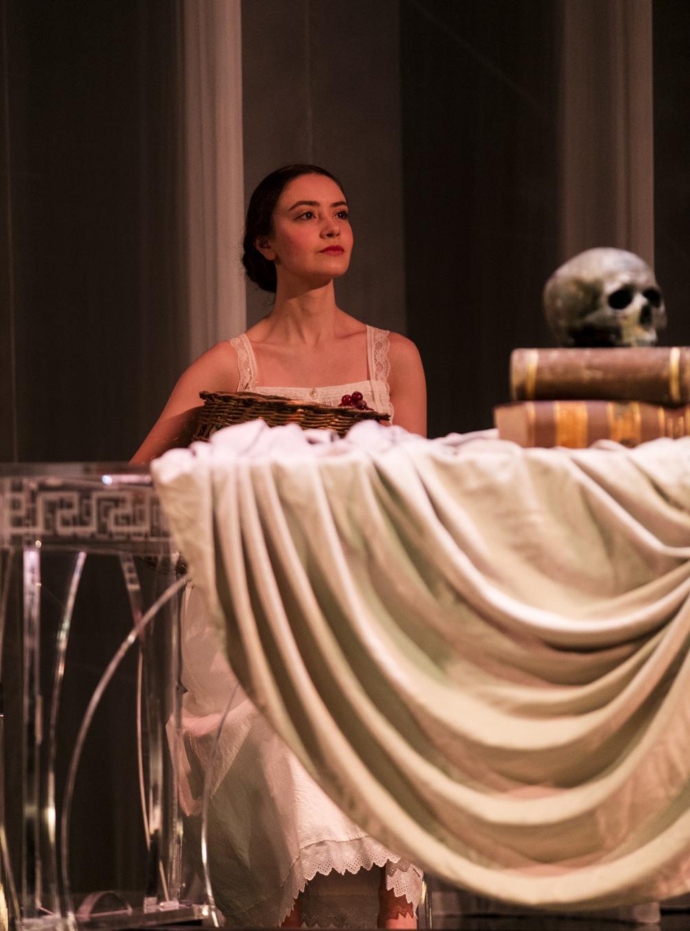 Fortuna  Il ritorno d'Ulisse in patria  Monteverdi  Pinchgut Opera  © Brett Boardman