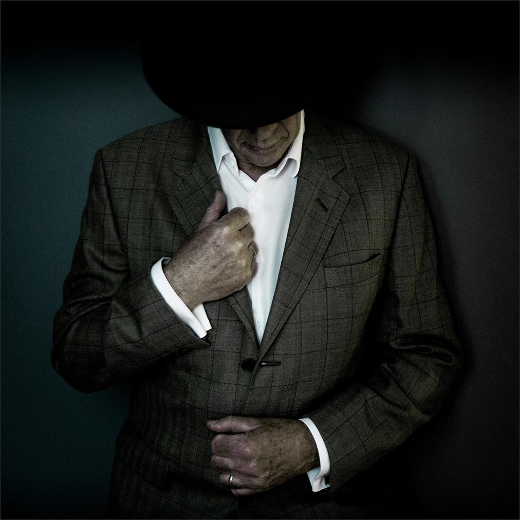 Sharp Dressed Man by Viv Blewett  Winner Colour Prints Set Subject - Faceless Portrait