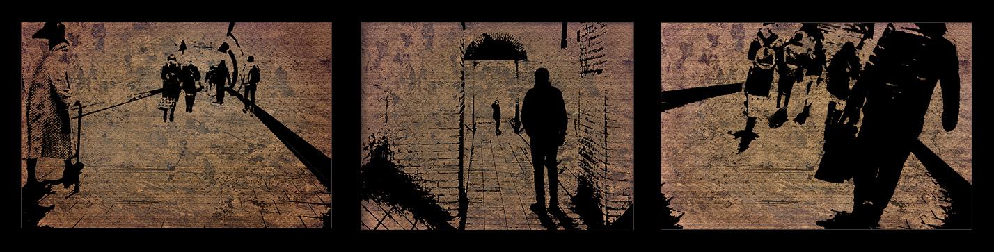 Going Underground by Viv Blewett  Runner Up Three of a Kind - Prints