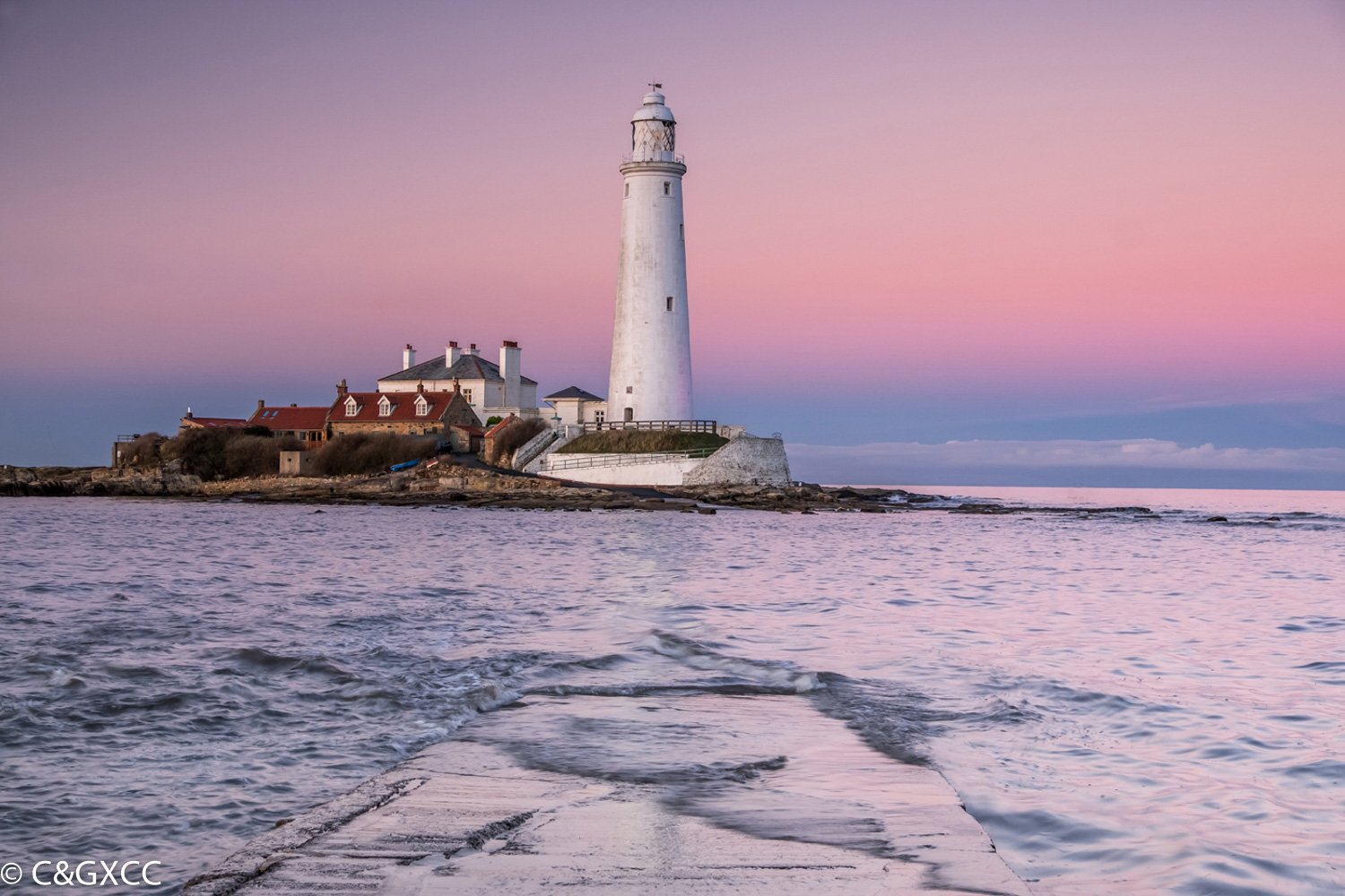 St Mary's Lighthouse by Miriam Mee  Winner Colour PDI Open