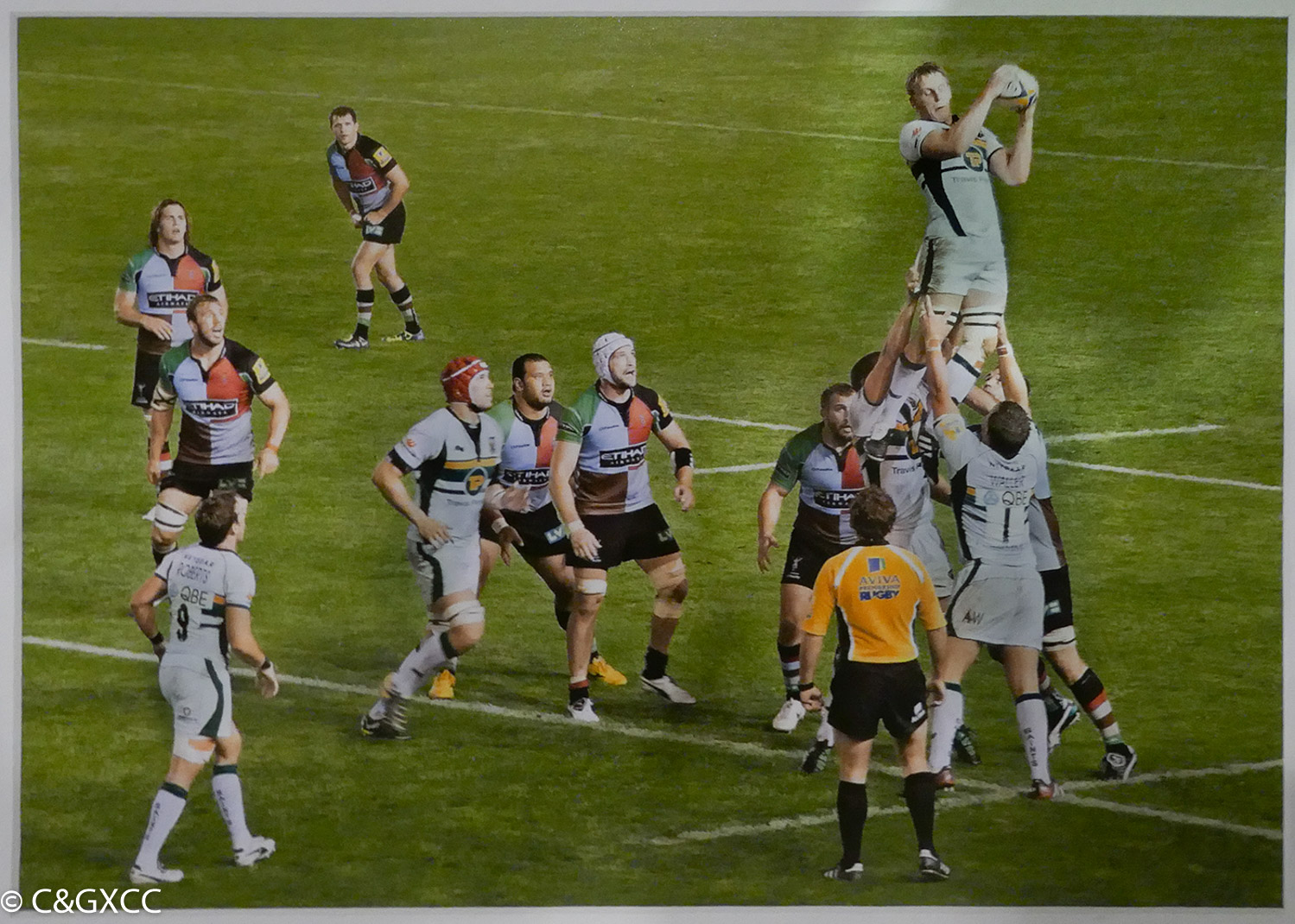 All Eyes On The Ball by Mark Whitwell  Runner Up Colour Prints  Set Subject - This Sporting Life