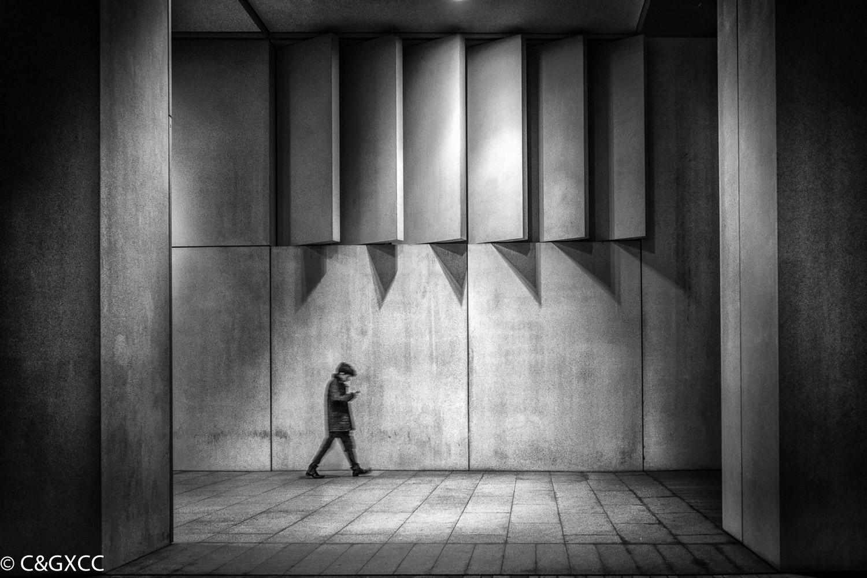 Concrete Walkway by Barry Webb LRPS  Winner Jean Farrall Trophy for Street Photography - Prints