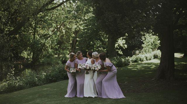 Emma and her bridesmaids looking amazing at @healingmanor . . . . #healingmanor #weddingvideo #weddingvideographer #destinationwedding #weddinginspo #lookslikefilm #lookslikefilmweddings #rockmywedding