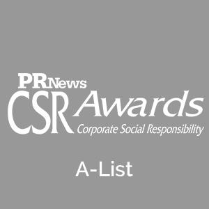 CSR A-List Award 7 years in a row:  2018  2017  2016  2015  2014  2013  2012
