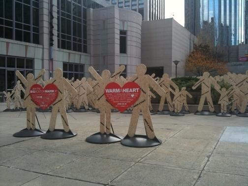 The Big Warm Up installation, Boston