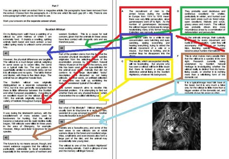 Reading 6+7 — FCE Exam Tips