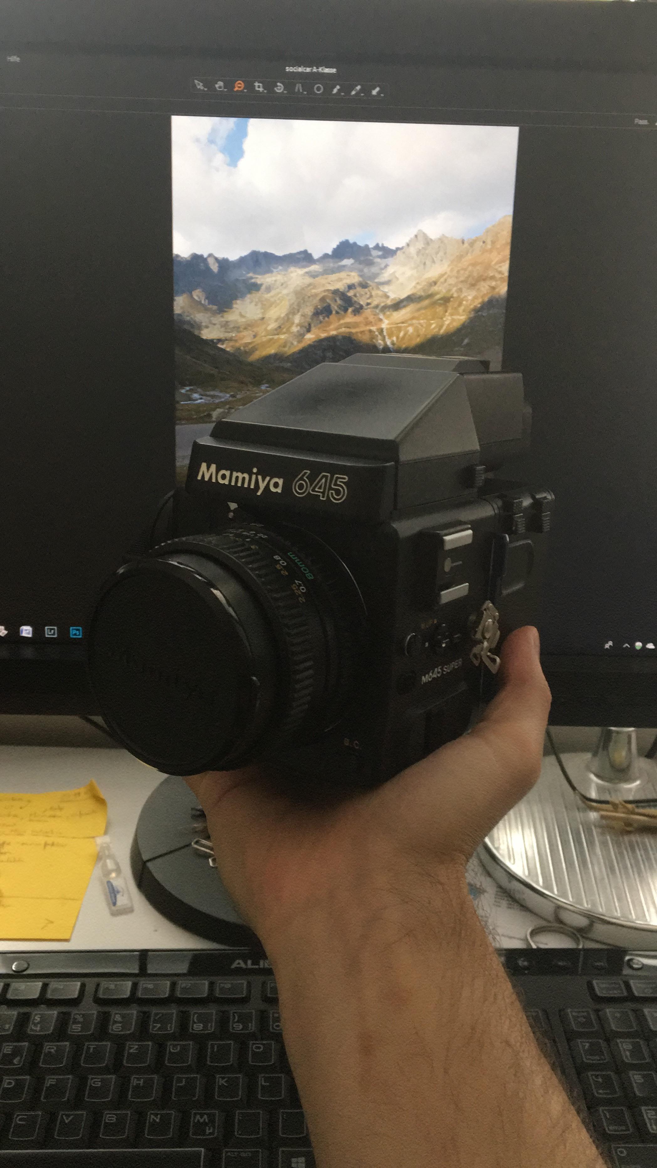 Mamiya 645 Super -