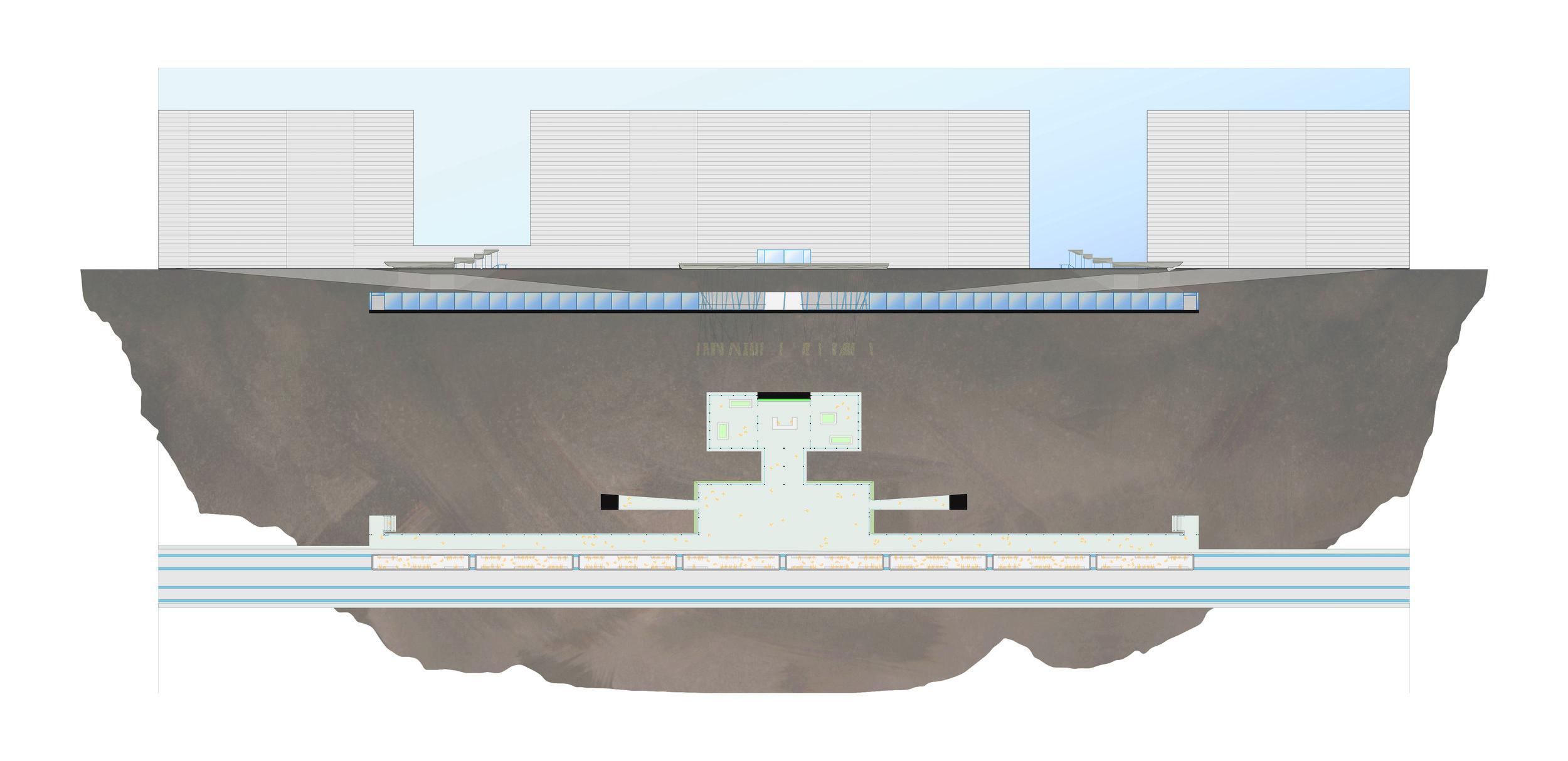 14th St. Subway Station - GSAPP Core I Studio - L-Train, NYC Subway - 14th St., Manhattan, NYinverting urban weight in infrastructure2017