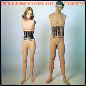 The cover art for Maxey's  Baeland  inspired by Mi-Sex's  Computer Games