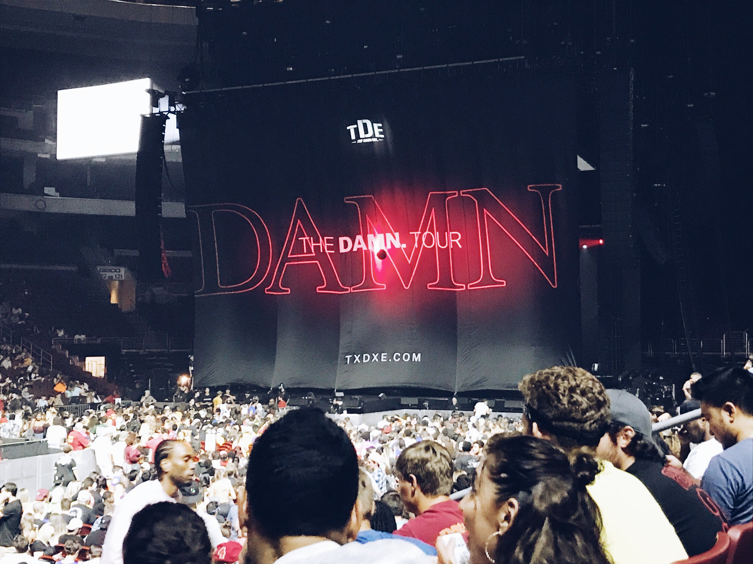 Kendrick Lamar - The DAMN Tour - iPhone