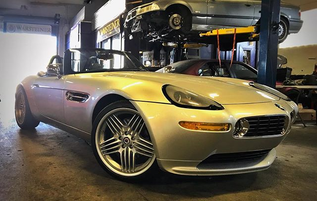 Just your average BMW. Manual,  immaculate condition, 32k miles, Supersprint headers, custom exhaust, Alpina wheels... yawn. 😏 ******************************************************#bmw #bmwz8 #z8 #bmwmotorsport #carsofinstagram #instacar #instacars #supersprint #alpina #modernclassic