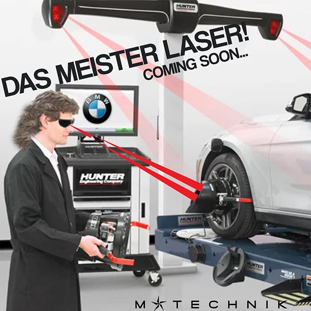 Your car low AF? Need a track alignment? Uneven tire wear?  We will be closed Tues 6/19 in preparation for the installation of Das Meister Laser (spoiler—it's a flush mounted Hunter alignment machine). ******************************************************#bmw #bmwmotorsport #instacar #carsofinstagram  @hunterengineering @texasmclub