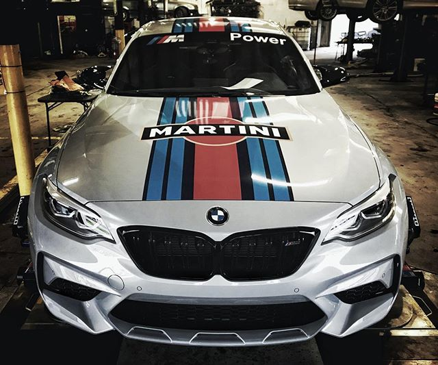 @evo4t just doesn't give a f***. KW V3s on the Martini Competition Package M2. ****************************************************** @kw_suspension @martiniracing @bmw #bmw #bmwm2 #bmwmotorsport #bmwmpower #carsofinstagram #instacar #m2 #competitionpackage #martiniracing #trackcar #motorsport #racingcars #racecar