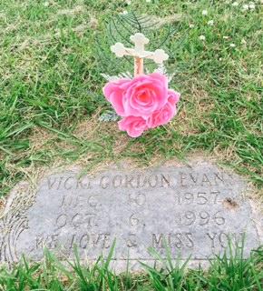 Rest in Heaven: Vicki Gordon Evans, December 10, 1957 -October 6, 1996