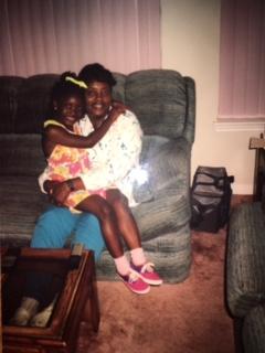 My grandmother and I!