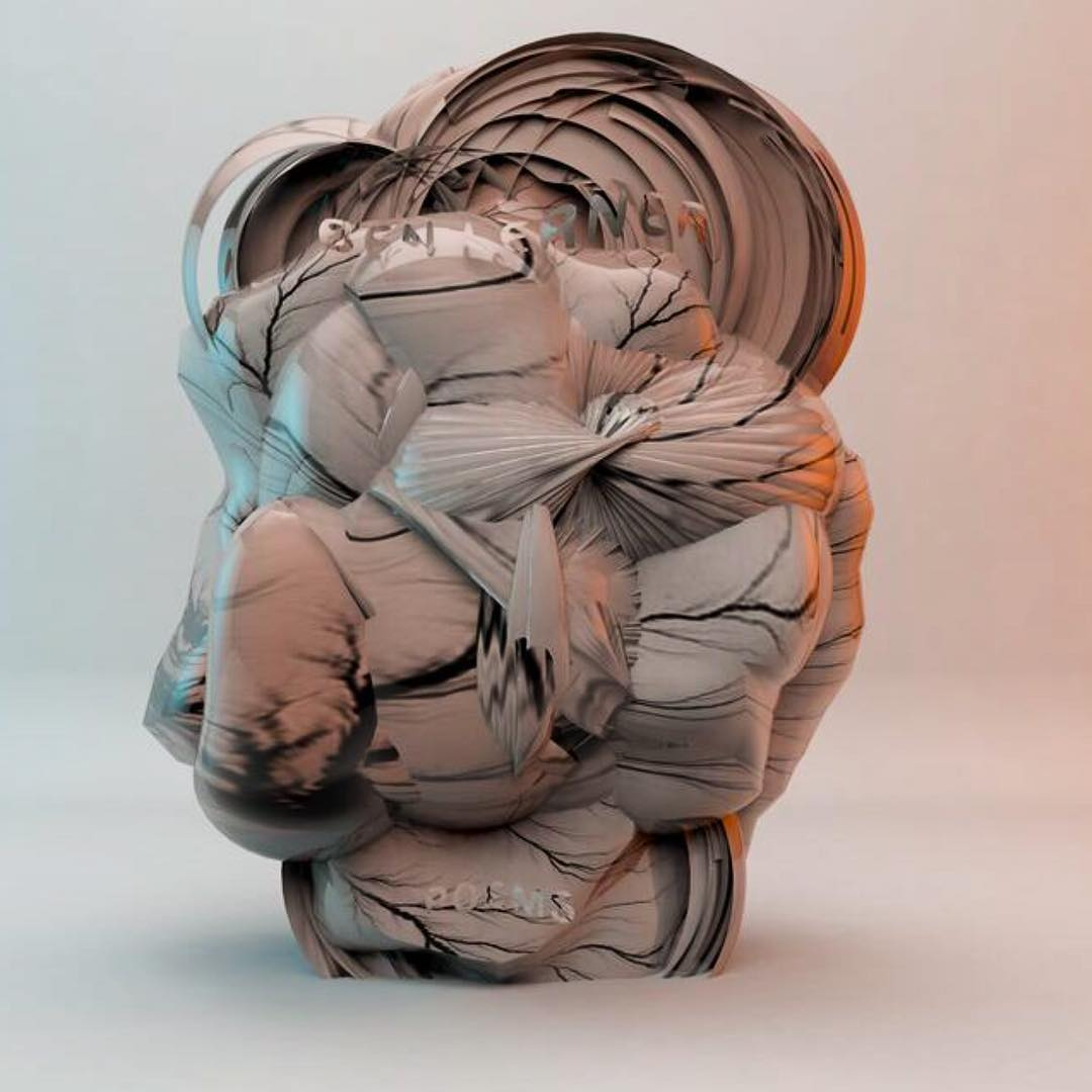 #experimental #sculptures based on the heart. Works in prog. #digitalart #digitalillustration #digitalsculpture #3dart #3dprinting #3dsculpture #3dillustration #experimentalart #graphicdesign #digitalillustration #artdirection #newmedia #newmediaart (hier: Berlin, Germany)