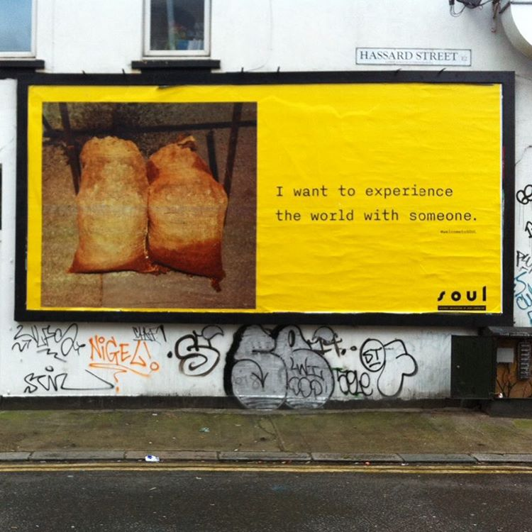 If you're in East London and wander the Hackney road you might happen upon a billboard take over by myself in collaboration with seminal photographer and artist Rut Blees Luxemburg. My #welcometoSOUL (Systemic Obfuscation of User Liberalism) virtual reality project continues. #streetart #eastlondon #billboardart #billboardtAkeover #contemporaryart #RutBleesLuxemburg #lovestory #financialcrisis #michaelsalu #contemporaryart2016 #streetsrt2016 #shoreditchart #londonart #londonartists #britishart #britishartists #britishcontemporaryart  #vr #virtualreality #hackneyart #hackneyartists #eastlondonart #hackneyroad #shoreditchstreets #corporatepatronage  (hier: 184 Hackney Road)