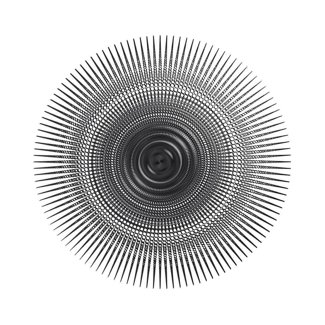 Nils Frahm x Vinyl Me Please x Saluspace x Michael SALU dec 2015!  art print ¾ via @michelsalu   #vinylme #vinylmeplease #art #michaelsalu #design #nilsfrahm #vinyl #limitededition #digitalart #digitalsculpture #generativeart #monochrome #spaces #erasedtapesrecords #artprints #illustration  (hier: Berlin, Germany)