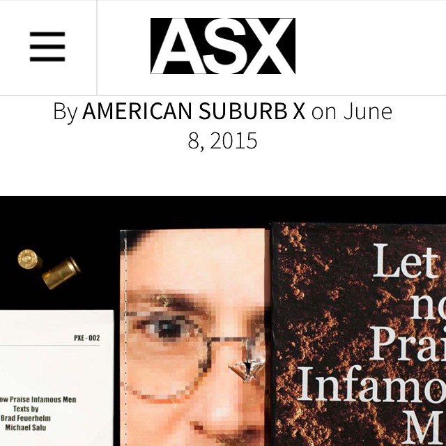 """""""For the authors Feuerhelm and Salu, theirs' is an act of frustration at our willingness to sit back and be spoon-fed bullshit while behind us a cartoon mouse holds a gun to our head."""" Check out a review of my collab with @ordinarylight 'Let us Now Praise Infamous Men"""" over @americansuburbx #warcrimes #wareconomy #disney #corporatemilitary #disney #moneytalks #bullets #bulletpoetry #artbook #photobook #photography #walkerevans #pixels #glock #pow #art #artasbook (at Berlin, Germany)"""