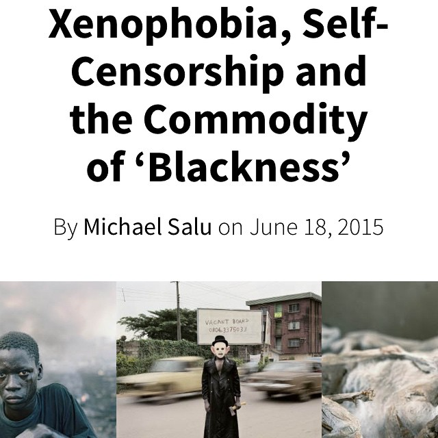 I had a chat with seminal South African photographer Pieter Hugo. During which we discussed, #xenophobia , #self-censorship #nollywood and the commodity of #blackness check it out on @americansuburbx website #Nigeria #southafrica #blacklives #blackskin #commodity #deadkennedys #pieterhugo #photography #hyena #environmental #disaster #technowaste #Rwanda #hotelrwanda (at Berlin, Germany)