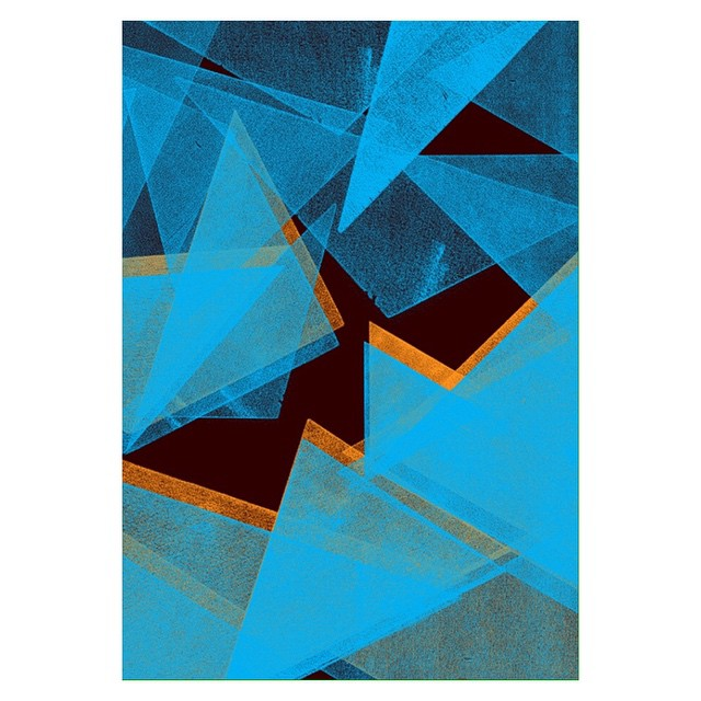 More #SALUarchive findings. Small detail from a #letterpress project we did for #MacLehosePress a few years ago. #printing #screenprint #geometry #patterndesign #landscape #graphicdesign #illustration #artdirection #print #mountains #night (at Berlin, Germany)