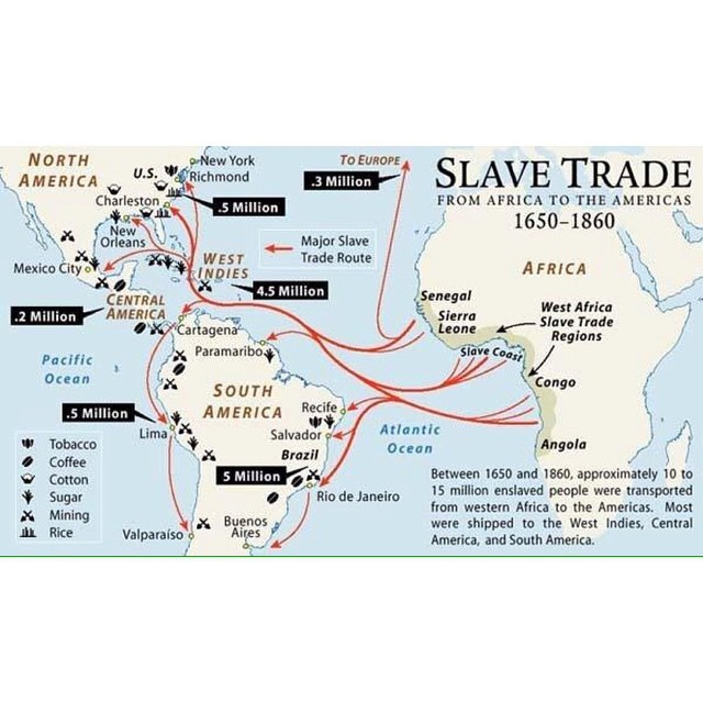 #slavetrade routes 1650-1860 #global #economic #history and trade #slavery #tobacco #coffee #sugar #rice #westafrica #shipping #currency #americas #congress #abolition (at Berlin Prenzlauer Berg)