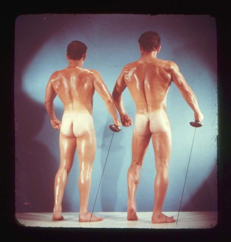 cmonstah :     Beefcake!!!! From the 1950s. Part of the   These Americans   series, courtesy of American Suburb X.