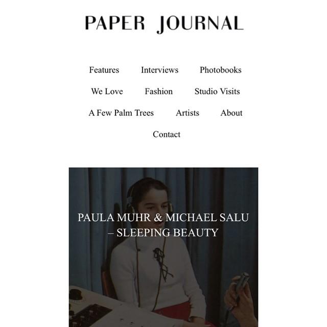 New #fiction for @paperjournal  http://paper-journal.com/paula-muhr-michael-salu-sleeping-beauty/  #photography #shortstory #woman