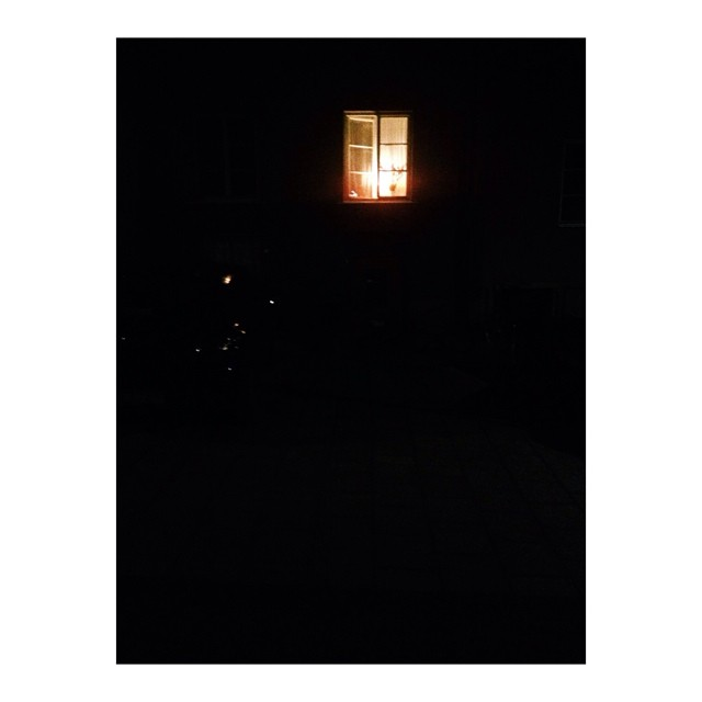 One #light remained on, but not for long…